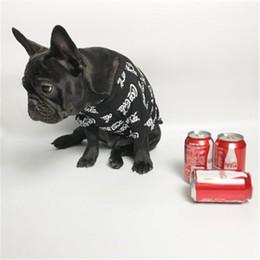 $enCountryForm.capitalKeyWord Australia - High Quality Pet Clothes Fashion Apparel Teddy Schnauzer T-shirt Casual Stretch Cotton Dog And Cat Red Black Clothes