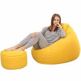 $enCountryForm.capitalKeyWord Australia - 31Footrest Stool Round Soft Ottoman Seat Lovely Solid Pouffe Stool 5 Wooden Chair Cover Living Room Modern Footstool