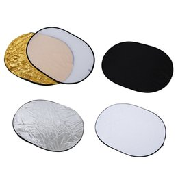 Photo reflectors online shopping - AAAE Top in collapsible reflector oval photo studio x cm quot x
