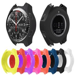 $enCountryForm.capitalKeyWord NZ - Hot Sale Silicone Soft Smart Band Strap Wristband For Samsung Gear S3 Classic   Frontier Protective Case #147061