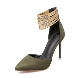 $enCountryForm.capitalKeyWord Australia - Newest Summer women's sandals 10cm hign heel sexy shoes Designer dress shoes fashion luxury ladies' dress shoes hot sale flock upper TY-29