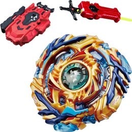 red beyblade NZ - Drain Fafnir Burst Beyblade Starter w  Launcher B-79 + LR RED Launcher and Sword Launcher