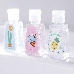30ml Sem Limpo Hand Sanitizer Gel externas portáteis bonitos Bactérias Mini Hand Sanitizer Anti Desinfecção crianças bebê Mão Gel DBC BH3201 em Promoção