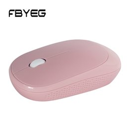 Save Laptops Australia - Fbyeg Mouse Wireless USB bluetooth rechargeable Mouse Mini Ergonomic 2.4GHz Power Saving Optical Silent Mause for Laptop