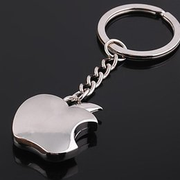 $enCountryForm.capitalKeyWord Australia - Fashion New Zinc Alloy Novelty Souvenir Metal Apple Key Chain Creative Gifts Apple Keychain Key Ring Trinket Wholesale Gifts