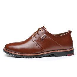 Sh Fashion UK - High quality men's leather shoes fashion trend men's formal wear business casual shoes luxury jewelry brand pointed wedding banquet men's sh