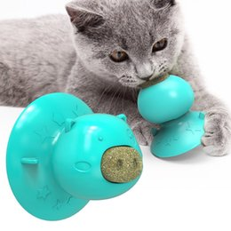 Pet Cat Toothbrush Toy Funny Shape Catnip Flavor Silicone Molar Stick Teeth Cleaning Toy For Cats Kitten on Sale