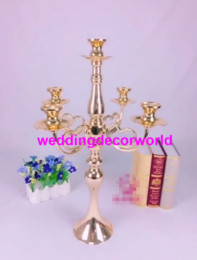 $enCountryForm.capitalKeyWord Australia - New style Metal Candle Holders Flower Vase Rack Candle Stick Wedding Table Centerpiece Event Road Lead Candle Stands decor689