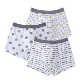 $enCountryForm.capitalKeyWord Australia - 3Pcs lot Children's Underwear Modal boy Child Boxer Panties Baby Big Shorts Cute cartoon children's underwear boxer