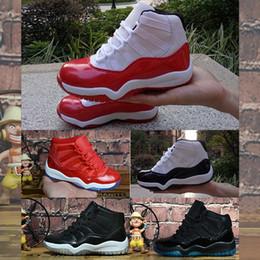 $enCountryForm.capitalKeyWord NZ - Sale Womens 11 Jumpman XI basketball shoes J11 Wool Midnight Navy Legend Blue Space Jam 45 11s sneakers for youth kids boys girlsV