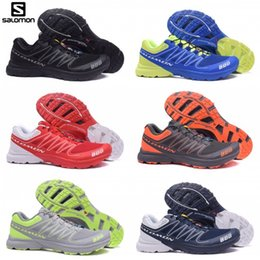 Mens grounding shoes online shopping - New Salomon S Lab Sense Ultra runner Soft Ground wings fashion Running Shoes sneaker man jogging Athletic Shoes Mens Sports Sneaker