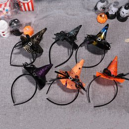 $enCountryForm.capitalKeyWord Australia - Halloween Decorative Festival Style Headwear European and American Party Halloween Style Headband for Adult Women and Children