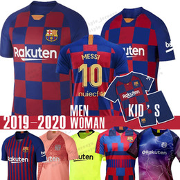 793fc273109 Barcelona jerseys online shopping - 10 Messi Third Barcelona Jersey SUAREZ  PIQUE Men Woman kids MALCOM