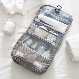 $enCountryForm.capitalKeyWord Australia - Waterproof Travel Organizer Bag Women Cosmetic Bag Hanging Makeup Bags Washing Toiletry Kits Storage Bags Bathroom Wash