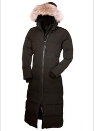 $enCountryForm.capitalKeyWord Australia - women's Raccoon fur collar top quality winter long coat warm long coat women winter downs jacket Down Parka Coat outerwear coats