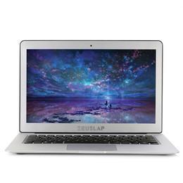 Intel I5 Laptops Australia - ZEUSLAP-X3 13.3inch 1920X1080FHD IPS Screen intel core i5 cpu 4GB RAM 128GB SSD Metal Case Fast Running Netbook laptop computer