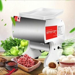 Slice Cutter Machine Australia - 550W Automatic Electric Sliced Meat Cutter Multifonctional Meat Slicer Electric Rapid Cutting Diced Sliced Meat Cutting Machine