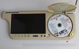 Sun monitorS online shopping - 7 inch HD MP5 RMVB DVD sun visor car monitor DVD Player USB TF Card Player Fully compatible with DVD SVCD VCD CD MP3 MPEG4 FM