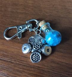 Broken Bad Australia - Blue Salt Shaker Keys Chain Breaking Bad Keybuckle Mini Mask Key Ring Alloy EDC Outdoor Portable New Arrival 5ds C1