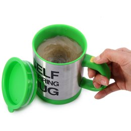 self stirring mugs Australia - Self Stirring Coffee Cup Mugs Electric Coffee Mixer Automatic Self-Stirring Mug Mixing Drinking Cups 400ml