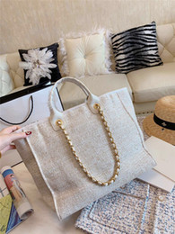 Best tote Bag pockets online shopping - Designer Luxury Handbags Purses New Arrival Best Selling Beach Bag Newest Quality Beige Black Pink Classic Color Hot Sale Women Bags Fashion