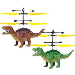 $enCountryForm.capitalKeyWord Australia - NEW induction flying toy dinosaur flying fairy suspended luminous crystal ball helicopter induction plane as children's toys