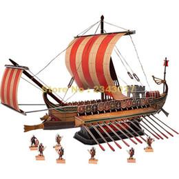 $enCountryForm.capitalKeyWord UK - wholesale T4037H 218pcs Roman Warship ship DIY 3D Paper Puzzle Model
