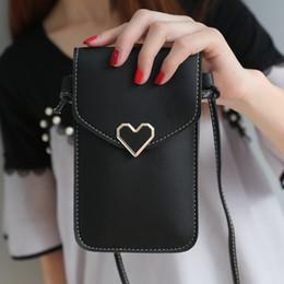 $enCountryForm.capitalKeyWord NZ - Purse heart wallet female card holders cellphone pocket PU leather women money bag clutch women neck wallet