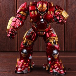 $enCountryForm.capitalKeyWord UK - Marvel Avengers 2 Age of Ultron Mark 44 Hulkbuster Hulk Buster Action Figure with Light PVC Collectible Model Toy