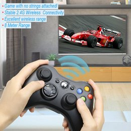 wireless controllers for xbox one NZ - For Xbox 360 2.4G Wireless Remote Controller Computer With PC Receiver Wireless Gamepad For Xbox360 Joystick Controle Controller