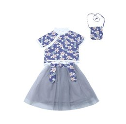 $enCountryForm.capitalKeyWord Australia - New children's clothing girls Hanfu Chinese style Tang suit Chinese style two-piece small girl baby clan wind skirt wholesale