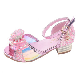 $enCountryForm.capitalKeyWord Australia - Toddler Children Girls Kids Shoes For Girl Party Baby Girl Kids Sneakers Princess Crystal Pearl Shoes Trainers