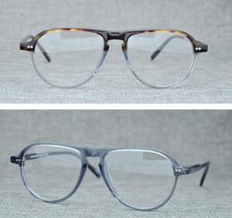 Prescription Glasses Frames Brands Australia - Brand Lemtosh Men Eyeglasses Frames Myopia Optical Glasses Frames Women Jasper Spectacle Frames Blonde Glasses for Prescription Glass