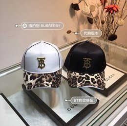 $enCountryForm.capitalKeyWord NZ - 2019 summer new hats for men and women stylish caps sport Delicate Oxford material Leopard print