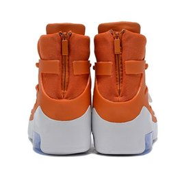 Discount orange net lights Hot Sale-ts for Men designer shoes Light Grey Triple Black Orange High Ankle Sport Shoes Sneaker Luxury Skateboard Shoes