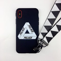 Phone cover trend online shopping - Hot Trend Street Skateboard Palace Phone Case for iPhone Xs Max Xr X Scrub Soft Silicon Cover for iPhone S Plus Coque