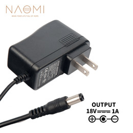 $enCountryForm.capitalKeyWord NZ - NAOMI Power Supply Charger 18V 1A US Power Supply Adapter Charger Black For Guitar Effects Pedal US Plug Guitar Parts & Accessories