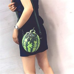 best sale handbags Australia - 2019 Best Sale Women Messenger Shoulder Bags Watermelon Shape PU Leather Mini Girls Crossbody Bags Handbag Bolso Bandolera