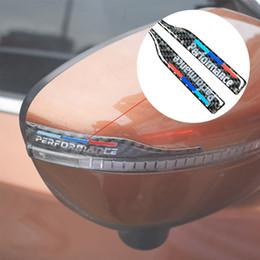 $enCountryForm.capitalKeyWord Australia - Carbon Fiber Rearview Mirror Anti-Rub Sticker Cover car    M Performance Power sticker for BMW e90 e60 f30 f34 X5 X1 E70