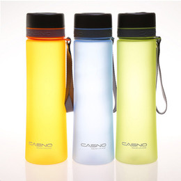 $enCountryForm.capitalKeyWord Australia - Capacity 1000ml Best Seller Frosted Water Bottles Outdoor Riding Sports Portable Straight With Leaking Net Water Bottle Sale 3 Y19070303
