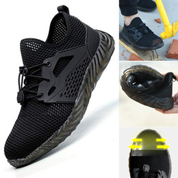 Discount k shoes - 2019 Men Indestructible Shoes Ryder Steel Toe Safety Boot Workers Sneakers K-BEST