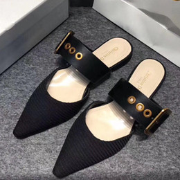 $enCountryForm.capitalKeyWord NZ - With Box! Woman Sandals Slippers High-Quality D Brand Sandals Heels shoe Designer Shoes Slide Casual shoes Flip Flops Size:35-40 by toy99 07