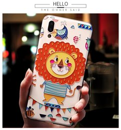 $enCountryForm.capitalKeyWord NZ - Fashion Cute Lion Printing Cellphone Cases for iPhone 5 5S SE 6 6S 7 8 Plus Fashion Phone Cover For iPhone X XS XR XS Max