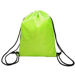 c8d6c29124 Impermeabile Nero Verde Nuoto Zaino Doppio Strato Coulisse Borsa sportiva  Borsa a tracolla Sport acquatici Viaggi # 510689
