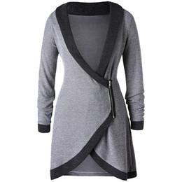 Wholesale women shawl collar cardigan sweater resale online - Wipalo Cardigans Women Sweater Plus Size Shawl Collar Contrast Trim Cardigan Casual Shawl Collar Long Sleeve Ladies Tops Jumper