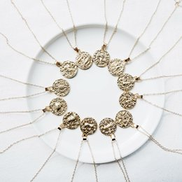 Libra jeweLry online shopping - 12 Constellation Jewelry Necklace Gold Virgo Libra Scorpio Sagittarius Capricorn Aquarius Zodiac Necklace Circle Pendant bijoux