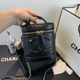 2019 sacs à main rétro de mode vente chaude sac à main en cuir chaîne sac sac bandoulière sac à bandoulière et sacs à bandoulière, taille: 17 cm * 15 cm * 10 cm en Solde
