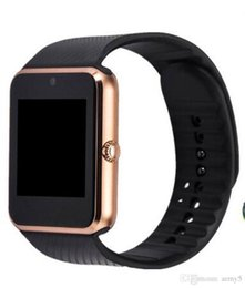 golden package UK - GT08 Bluetooth Smart Watch with SIM Card Slot and NFC Health for Android Samsung and IOS Apple iphone Smartphone Bracelet With Package