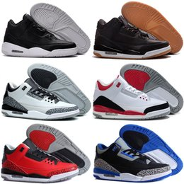 $enCountryForm.capitalKeyWord NZ - Cheap 3 Outdoor Shoes III Men Best price Top Sale 3s Sports Replicas Man Sneakers 40-47