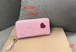 $enCountryForm.capitalKeyWord Australia - Women bags Famous Brands Designer LONG Women Notecase heart-shaped Wallets & Holders CUBE Casual PU Leather Lady Credit card purse